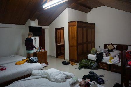 Zolderkamer bij Kiman Hotel