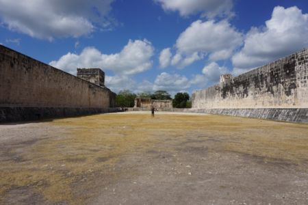 The Ballcourt Chitzen Itza