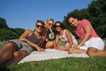 Chilling in Central Park!